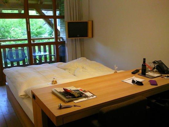Kartause Ittingen: chambre avec petit balcon