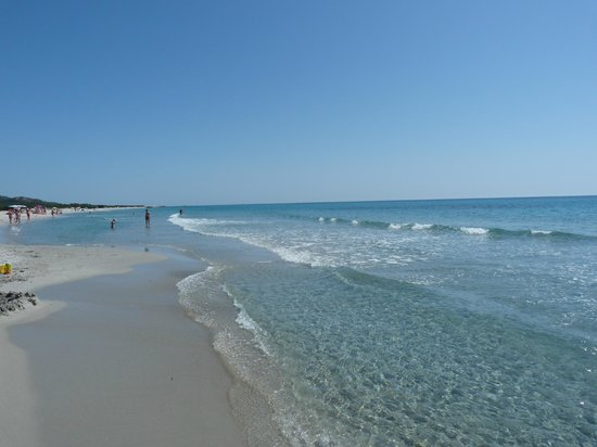 Eden Village Club La Caletta : spiaggia di Berchida (parco naturale di Bidderosa)