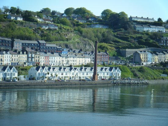 Cobh Heritage Centre: the view on approach to the village of Cobh