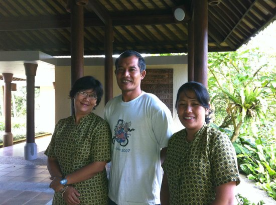 Puri Candikuning Retreat: Very kind and nice staffs