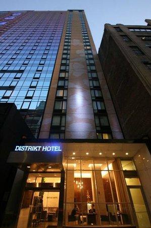 Distrikt Hotel New York City: Façade the Distrikt Hôtel