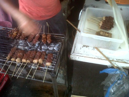 Arnel's Best: staff cooking our barbeque