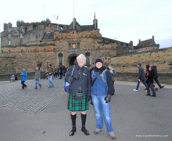 Josh Thomson  Photo De Edinburgh Tour Guides Dimbourg  TripAdvisor