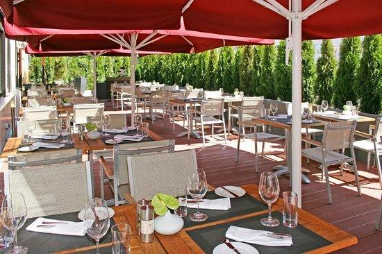 Wilson´s The Prime Rib Restaurant: Terrasse