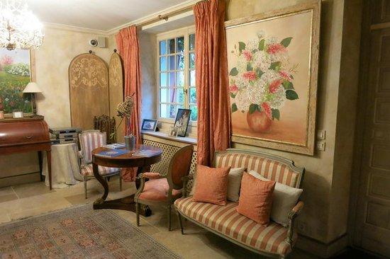 Hôtel Villa Catarie : coin détente