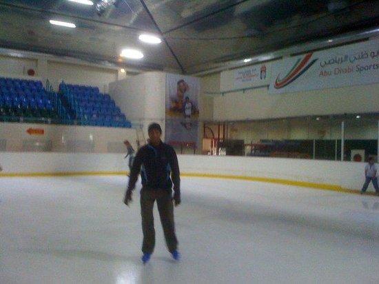 阿布扎比滑冰场