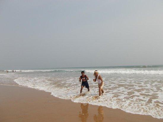 Brahmapur, Indien: beach...