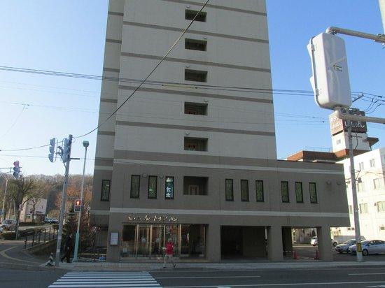 Hotel Route Inn Abashiri Ekimae : 正面