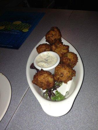 Picadillo stuffed plantains :) - Picture of Mojito Cafe, Virginia ...