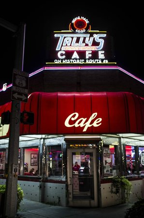 Tally's Good Food Cafe : Tally;s diner
