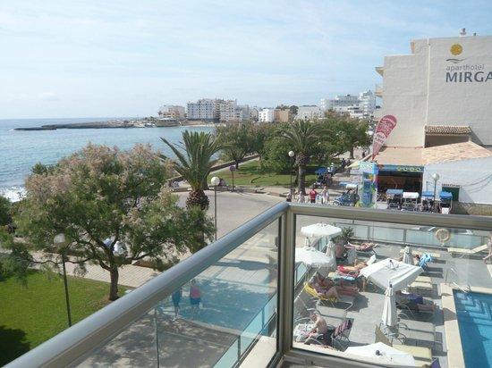 Hotel Som Fona: vue de la chambre 202