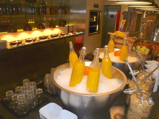 citizenM London Bankside: Breakfast - Enough choise, good quality