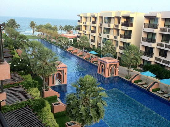 Marrakesh Hua Hin Resort & Spa : A view from our suite