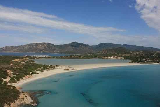 Pullman Timi Ama Sardegna : Vue du ciel