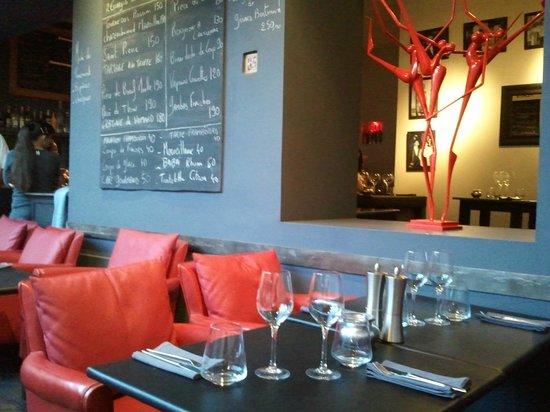 Restaurant Le Studio: on s'y sent bien