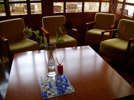 Hotel Rural Vado del Duratón: Ajedrez en zona de descanso