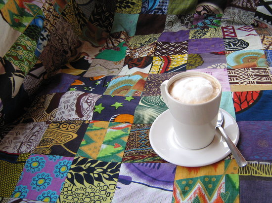 Cuppa Musselcracker : The perfect Cuppa on our famous African-homely lounge