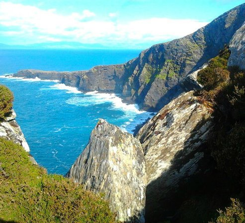Valentia Island, Ireland: Fogher Cliffs