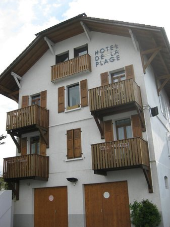 Hôtel de la plage : Exterior of hotel