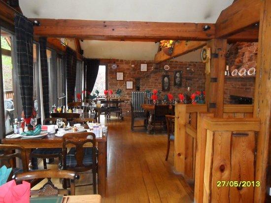 Great Salkeld, UK: Upstairs dining area in pub