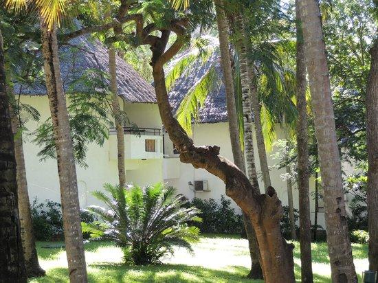 Severin Sea Lodge: Balkonaussicht