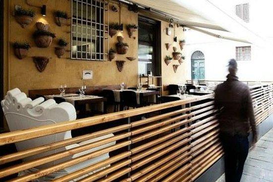 Il Caminetto Ristorante : Terrace