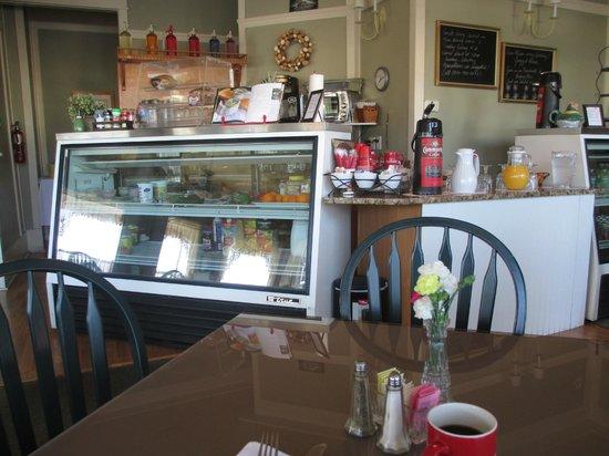 Hotel DeFuniak: Cafe