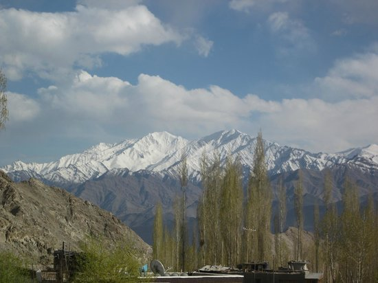 Hotel Pangong: view from room