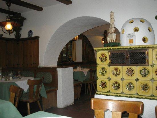 Restaurant Wolf: The back diningroom where we ate