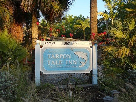 Tarpon Tale Inn: Hotelgelände