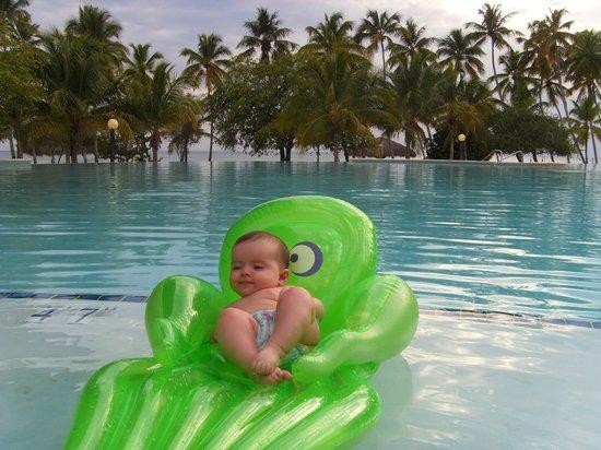 Dreams La Romana Resort & Spa : Last in the pool
