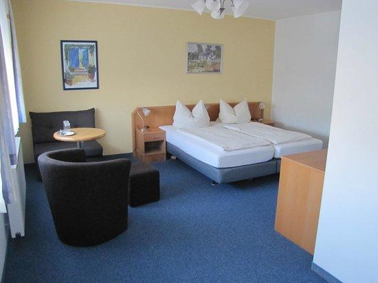 Hotel Am Weyerhof: Doppelzimmer-komfort