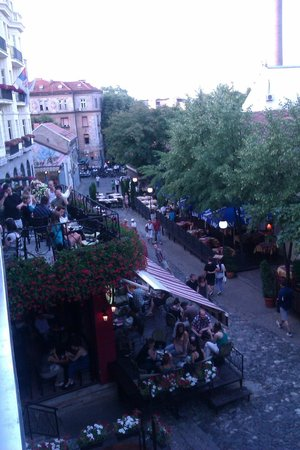Hostel Skadarlija Sunrise: lovely Skadarska street