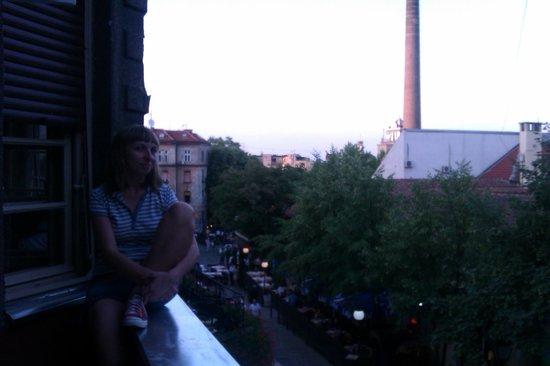 Hostel Skadarlija Sunrise: View form the room