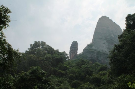 Shaoguan Danxia Mountain Sex Culture Museum: The big one, see from afar