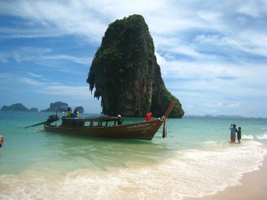 PhraNang Cave Beach: Phra nang beach
