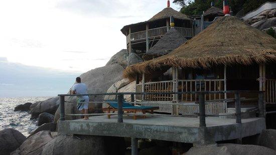 Koh Tao Bamboo Huts: The huts