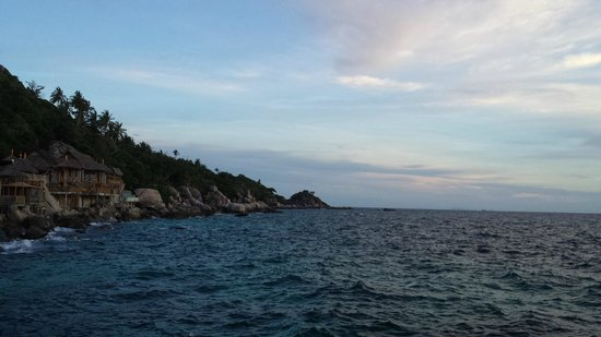 Koh Tao Bamboo Huts: The view