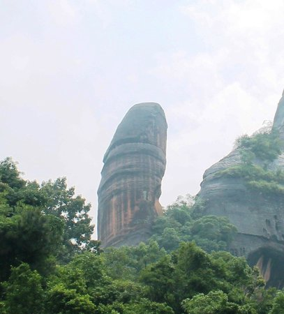 Shaoguan, China: Male Sex Organ Rock