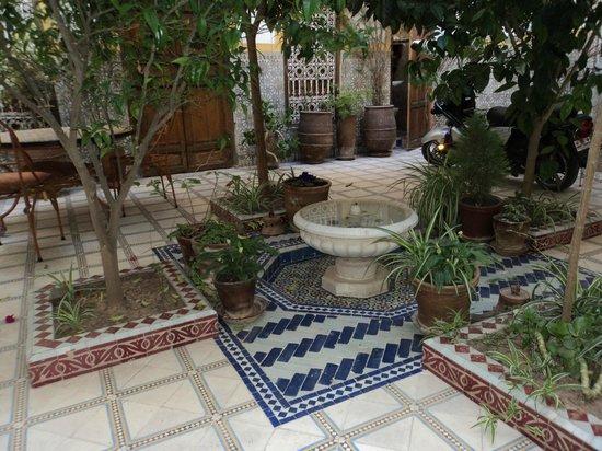 Riad Dalia: Courtyard