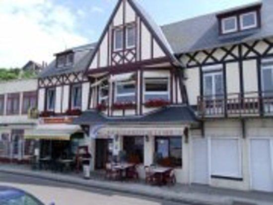 Veulettes-sur-Mer, France: Vue exterieure du restaurant