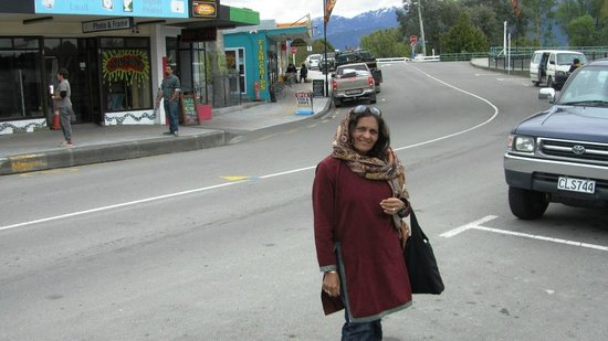 Whale Watch Kaikoura: The town was very cute