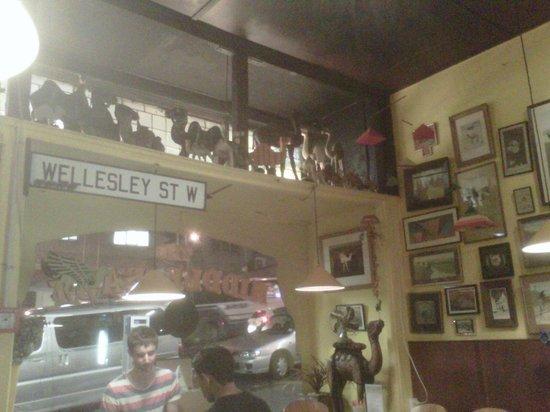 Middle East Cafe : Inside the restaurant