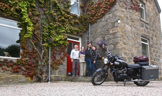 Achintee Farm : Great host's, we didn't want to leave
