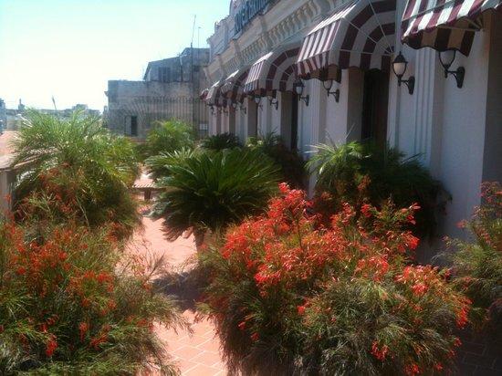 Armadores de Santander Hotel: terrasse des chambres