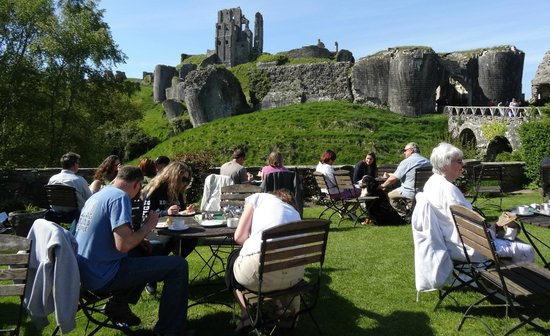 National Trust Tea Room: View from the terrace