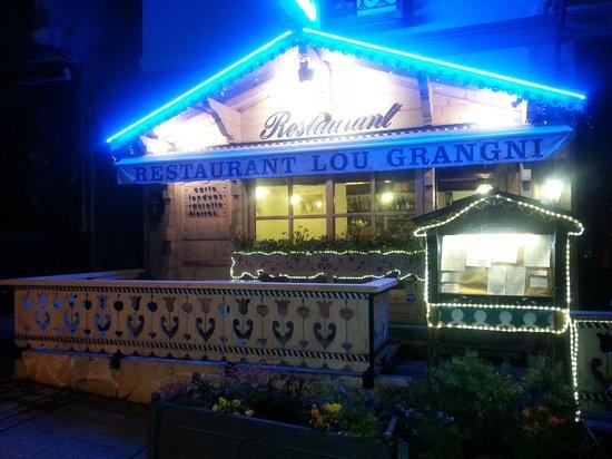 Restaurant Lou Grangni : décoration typique savoyard