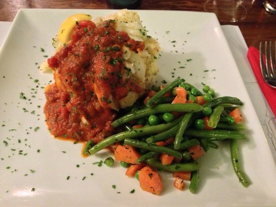 The Seven Stars: Loin of Cod with Mustard Mash