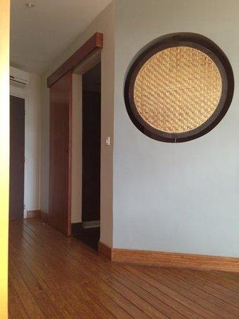 Hotel Tamboho : porte salle de bain