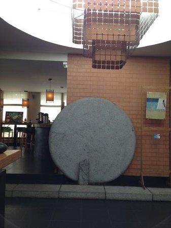 Hotel Tamboho : hall d'entrée